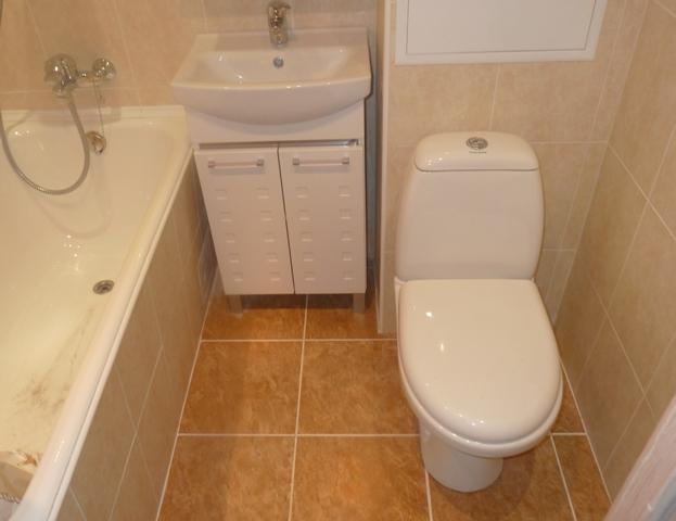Эконом ремонт ванной комнаты своими руками